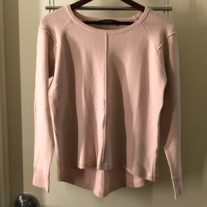French Connection Pink Sweater Size Small
